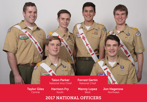 2017 National Officers