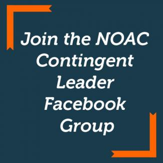 Join the NOAC Contingent Leader Facebook Group