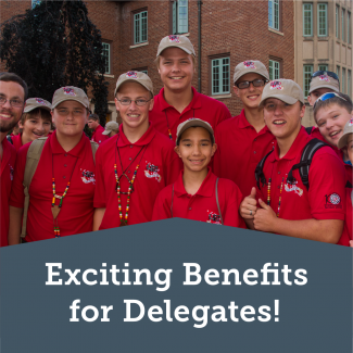Exciting Benefits for Delegates!