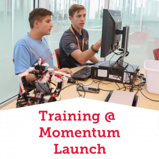 Training At Momentum Launch