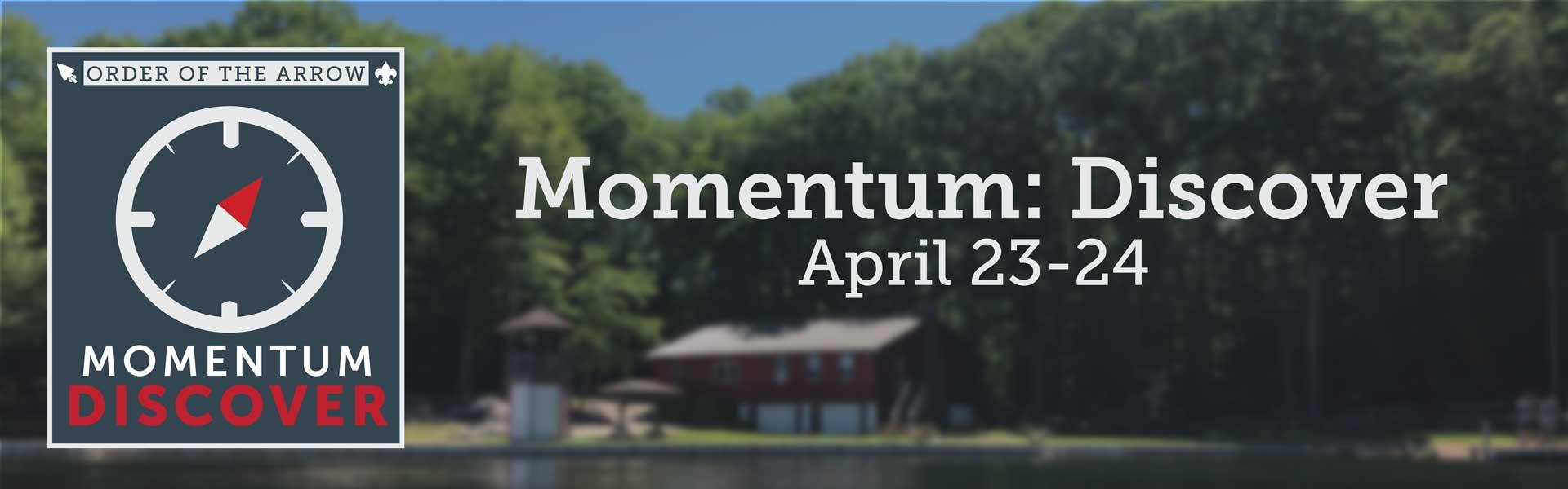 Momentum: Discover | April 23-24, 2021