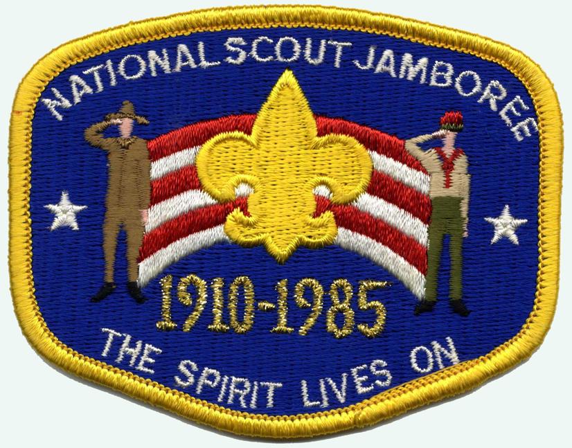 Choccolocco Council CSP Alabama BSA 75th Anniversary 1985 Jamboree JSP