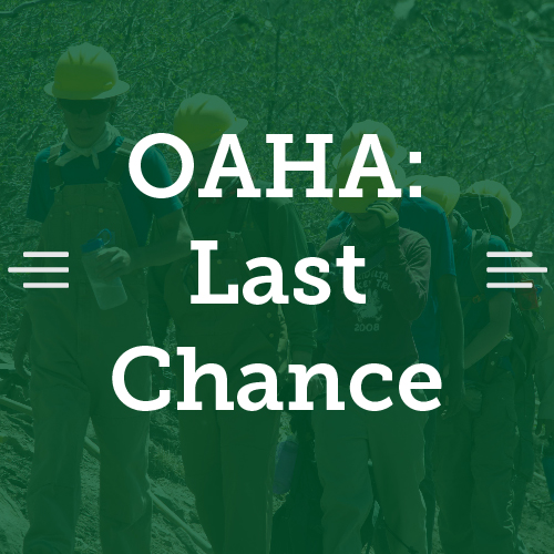 Last Chance to Register for OAHA!